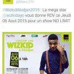 Concert de Wizkid